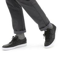 Vans - UA LOWLAND CC - Trainers - (leather) black/true whit - 0