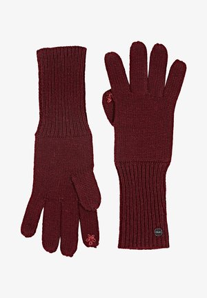 BASIC  - Gloves - bordeaux red