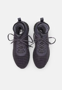 adidas by Stella McCartney - ALPHAEDGE 4D - Neutral running shoes - night steel/core black/platinum mauve - 3