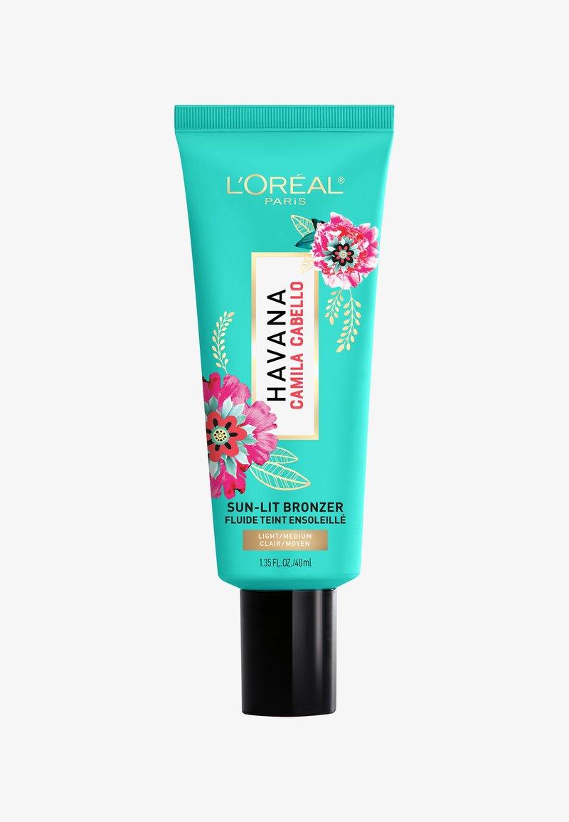L'Oréal Paris - SUN-LIT BRONZER CAMILA - Bronzer - 01 light-medium