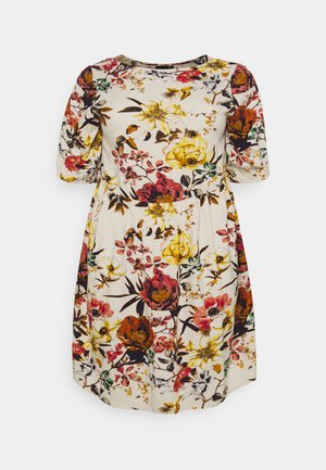 LIV MIDI DRESS - Day dress - beige flower