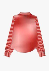 LMTD - NLFKAYA - Button-down blouse - poppy red/white - 1