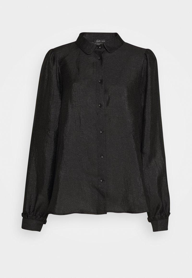 Stella Nova - MACY - Overhemdblouse - black