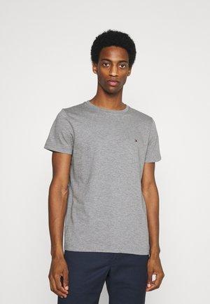 SLUB TEE - Basic T-shirt - medium grey heather