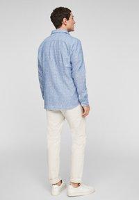 s.Oliver - Shirt - blue dobby - 2