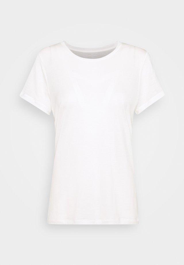 TREE TEE - Jednoduché triko - white
