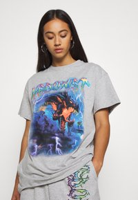 NEW girl ORDER - HEDONIST TEE - T-shirts med print - grey - 3