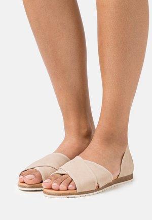 CHIUSI - Sandals - taupe
