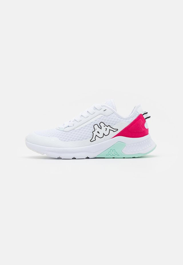 TUELO - Sportovní boty - white/pink