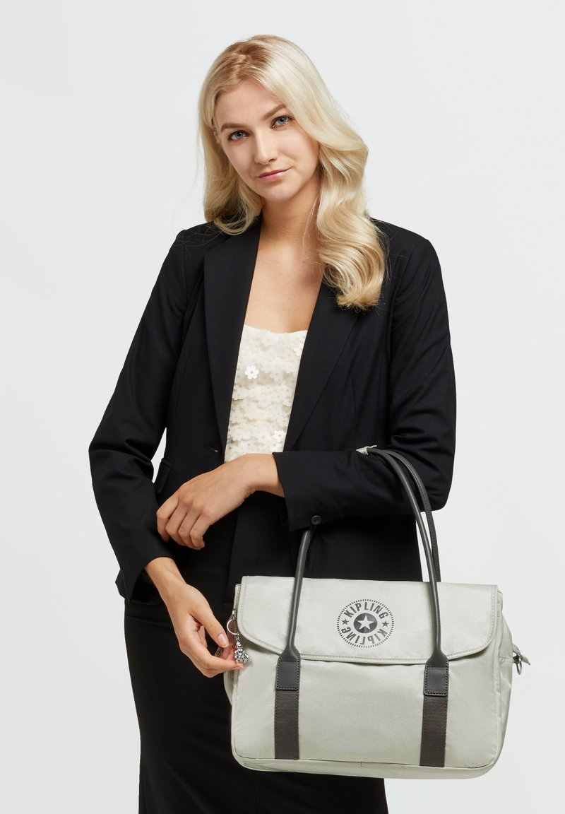 Kipling - COMPUTER  - Handbag - dynamic silver