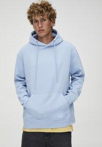 PULL&BEAR - Hoodie - light blue - 4