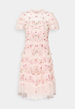ELSIE RIBBON MINI DRESS - Cocktail dress / Party dress - pink encore