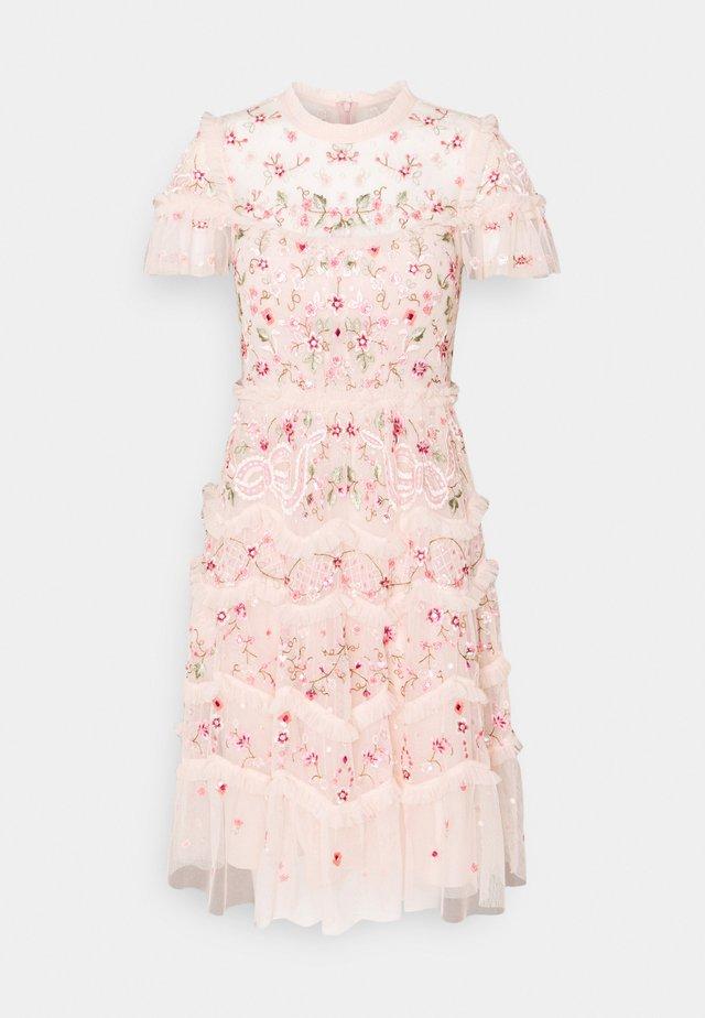 ELSIE RIBBON MINI DRESS - Koktejlové šaty/ šaty na párty - pink encore