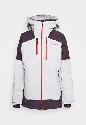 WILD CARDJACKET - Snowboardová bunda - nimbus grey/dark purple