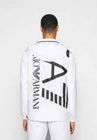 EA7 Emporio Armani - Summer jacket - white - 3