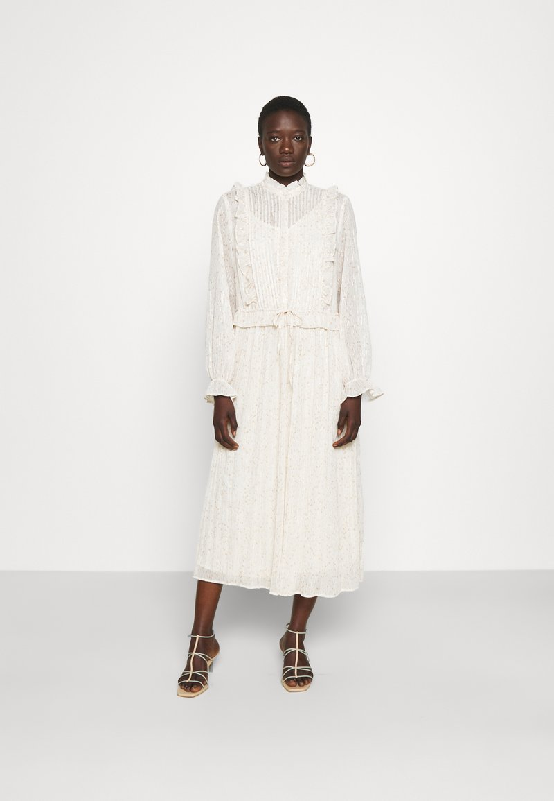 Bruuns Bazaar - VERVAIN THERESA DRESS - Maxi dress - beige