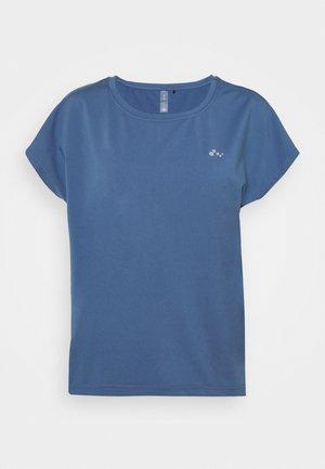 ONPAUBREE LOOSE TRAINING  OPUS - T-shirt basic - bijou blue