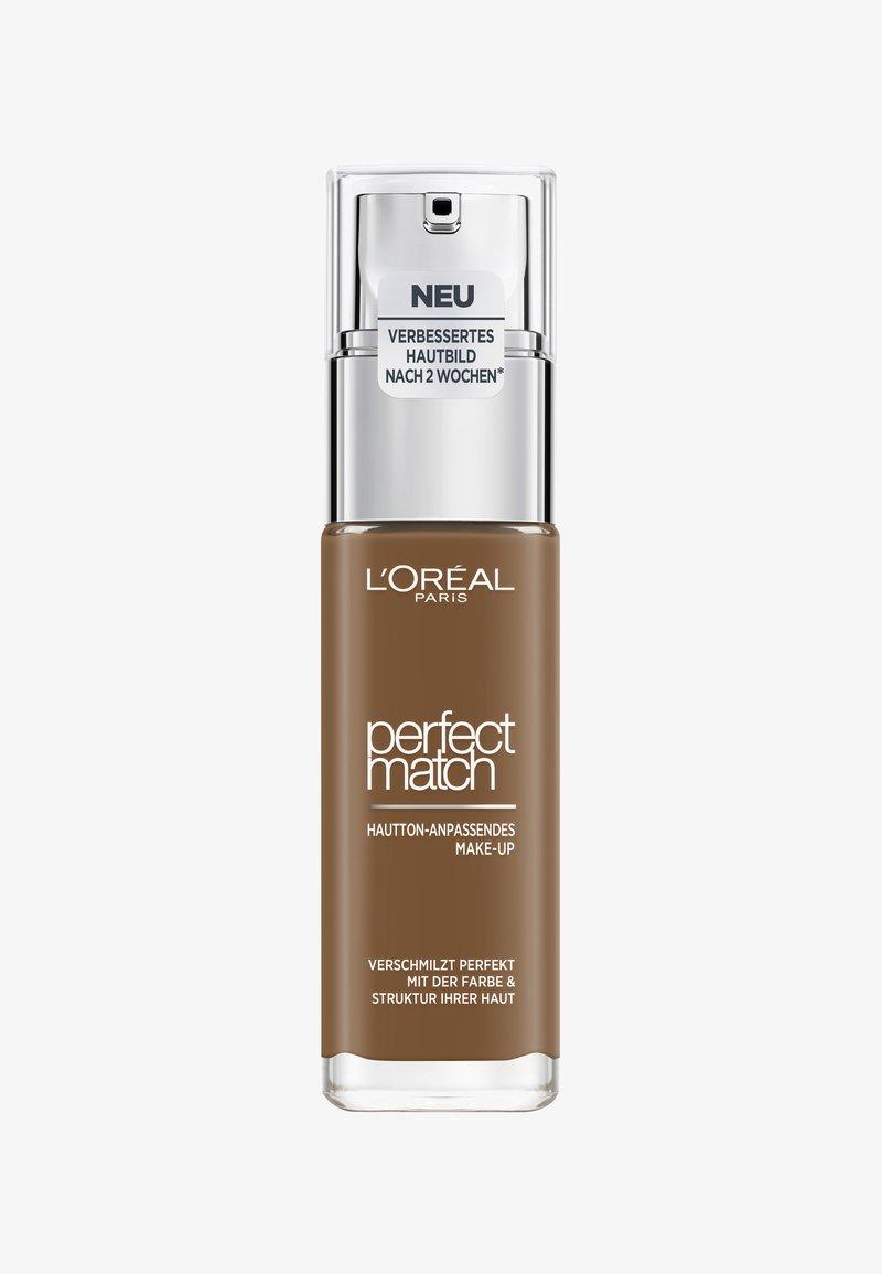 L'Oréal Paris - PERFECT MATCH MAKE-UP - Foundation - 10w deep golden
