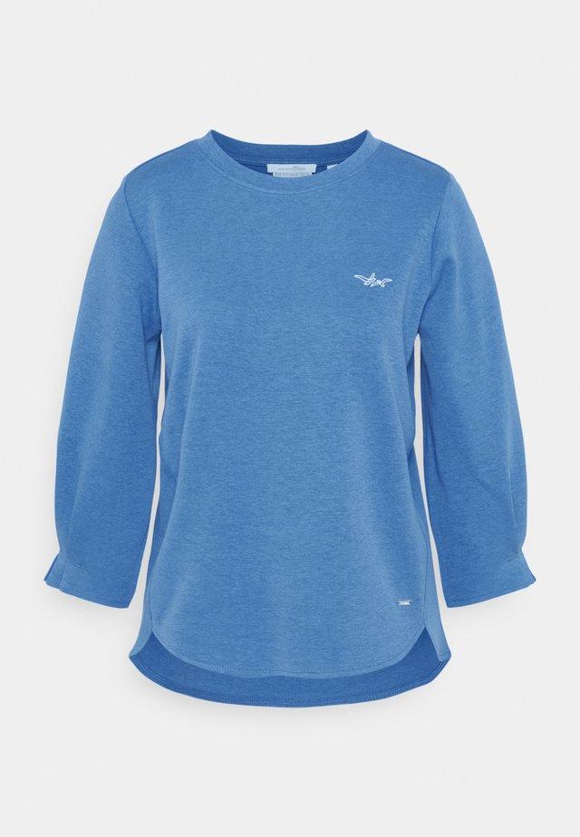Topper langermet - mid blue