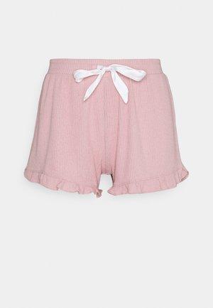 SHORT BRUSHED - Pyjama bottoms - peach whip