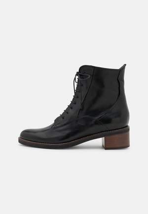 BINATO - Lace-up ankle boots - ginger black