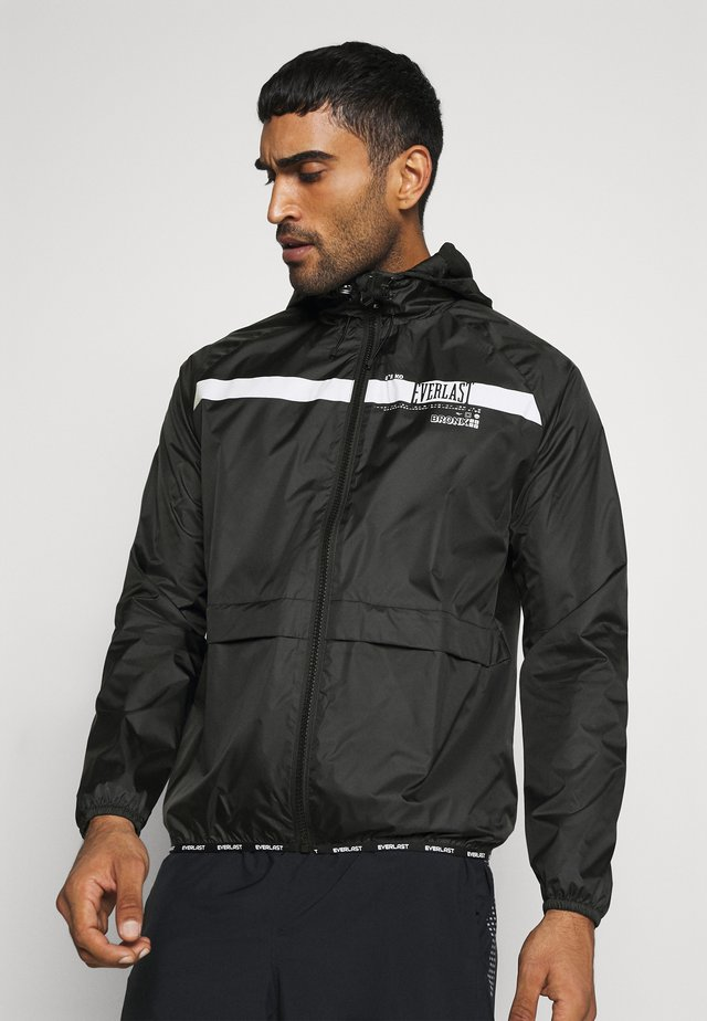 POP OVER RICKERS - Veste de survêtement - black