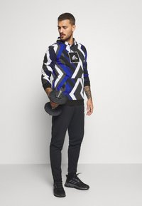 adidas Performance - HOODIE - Hoodie - white/royal blue/grey four/black - 1