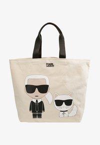 KARL LAGERFELD - IKONIK  - Shopping Bag - white - 4