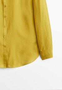 Massimo Dutti - Koszula - mustard yellow - 5