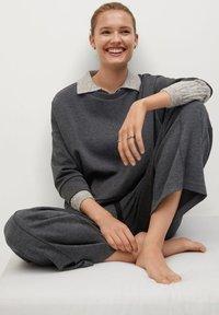 Mango - MIA - Trousers - dunkelgrau meliert - 5