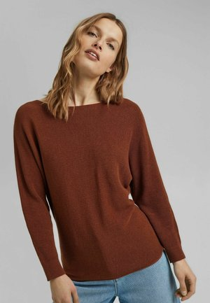 SWEATERS - Pullover - toffee