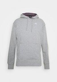 Nike SB - HOODIE UNISEX - Hoodie - grey heather/white - 0