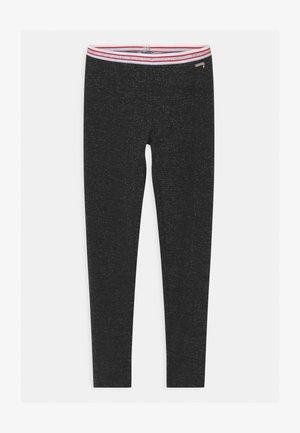 JUNIOR MILANO - Leggings - Trousers - jet black