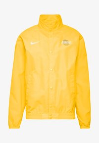 Nike Performance - NBA LOS ANGELES LAKERS CITY EDITION JACKET - Club wear - amarillo/white - 4