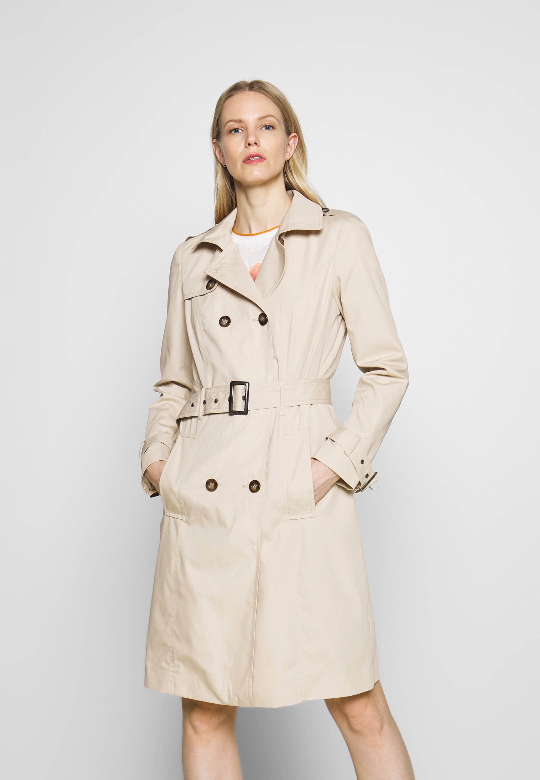 Soyaconcept LORA  - Trench - dark sand - Manteaux Femme cxcVD