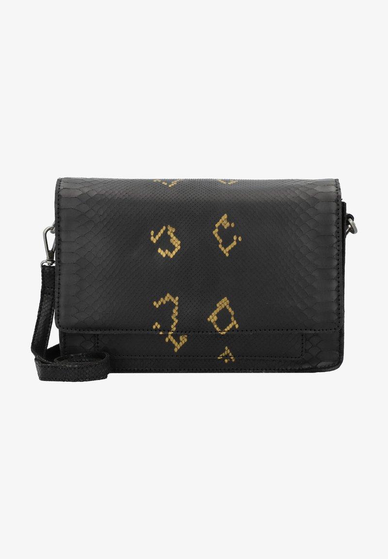Cowboysbag - ONYX - Across body bag - snake black/gold