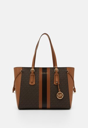 VOYAGER SEMI LUX  - Handbag - brown/acorn