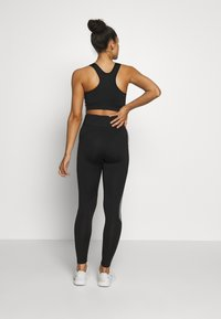 New Look - COLOUR BLOCK - Leggings - mid pink - 2