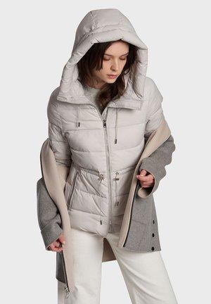CIUDAD BI - Winter coat - off white grey