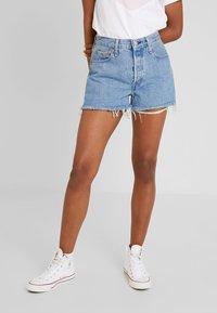 Levi's® - 501® HIGH RISE SHORT - Denim shorts - flat broke - 0