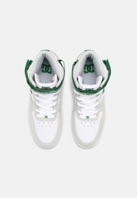 DC Shoes - PENSFORD - High-top trainers - white/grey/green - 3