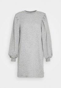 JDY - JDYMATHILDE DRESS - Jerseykjole - light grey melange - 0