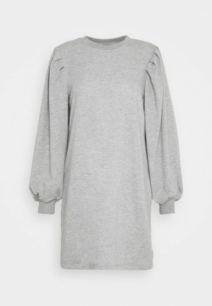 JDYMATHILDE DRESS - Jerseykjole - light grey melange