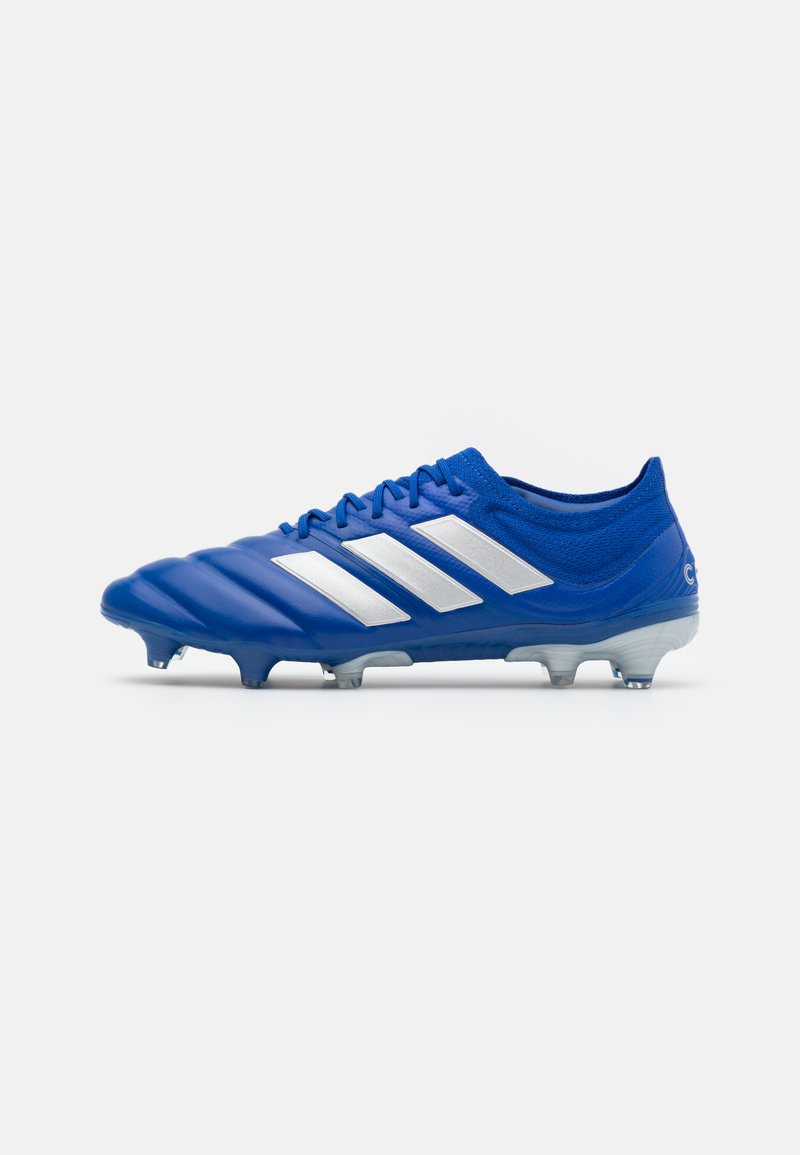 adidas Performance - COPA 20.1 FOOTBALL FIRM GROUND - Moulded stud football boots - royal blue/silver metallic