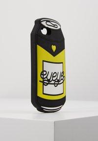 Mister Tee - PHONECASE CAN / I PHONE 6/7/8 - Obal na telefon - black/white/neon yellow - 4