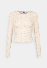 BDG Urban Outfitters - FLORAL EDGE TEE - Topper langermet - peach - 0