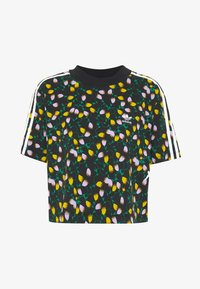 adidas Originals - CROPPED TEE - Printtipaita - multicolor - 3