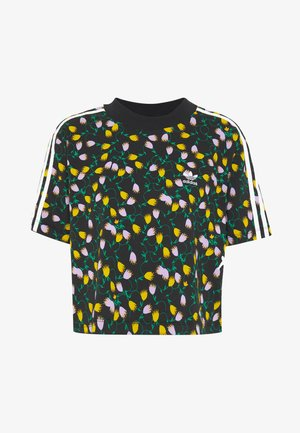 CROPPED TEE - T-shirt med print - multicolor
