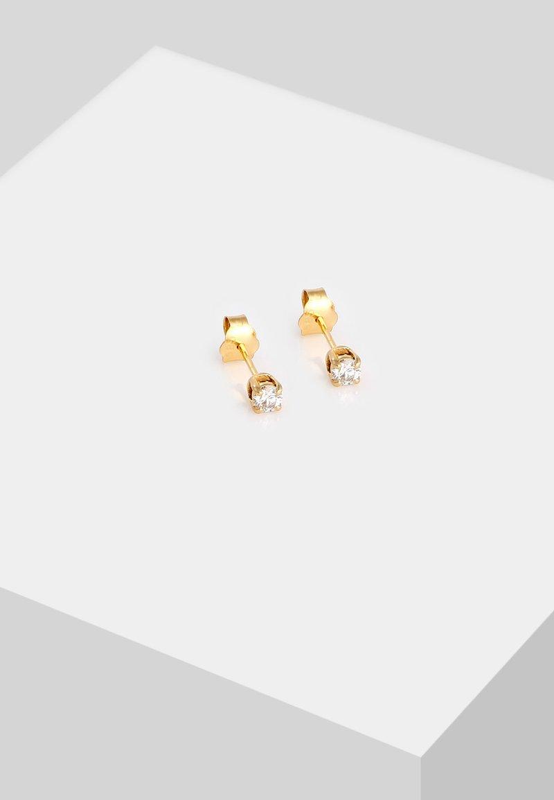 DIAMORE - Earrings - gold-coloured