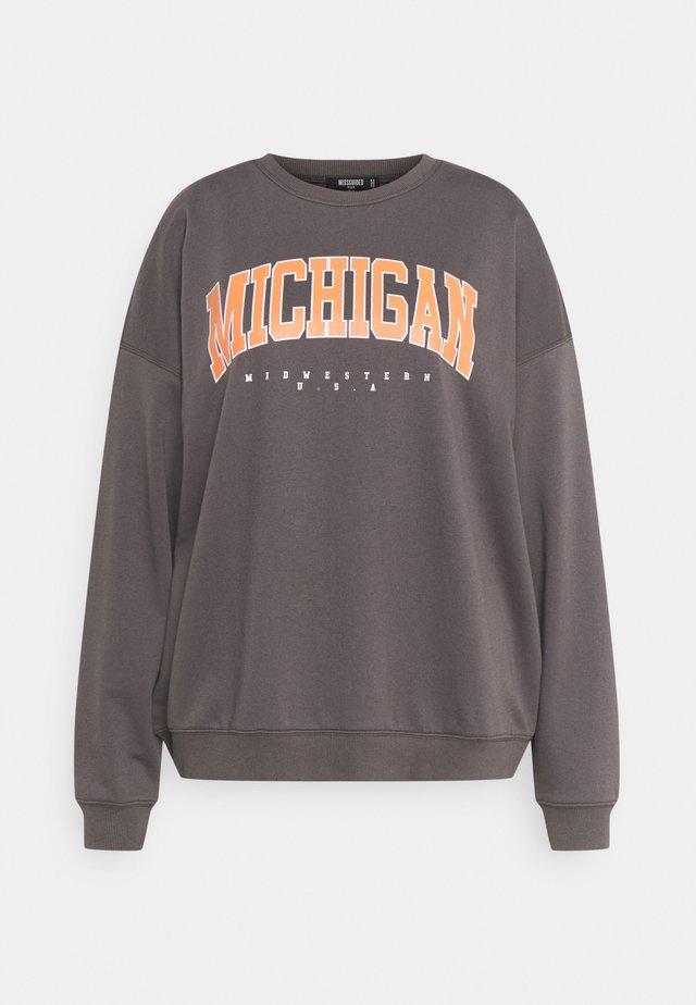 PLUS SIZE MICHIGAN SWEATER - Sweater - grey
